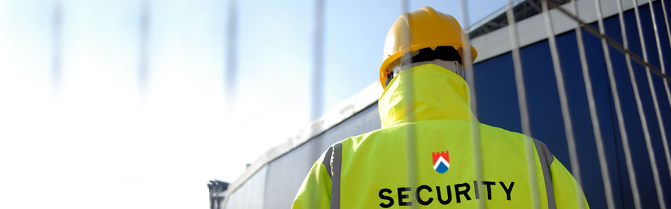 alpine security london man guarding